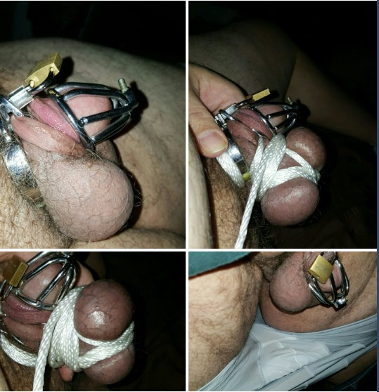 cock and ball bondage pictures